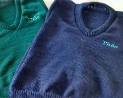 b505e697d5 ... Colete em tricô infantil personalizado