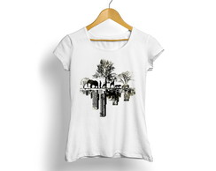 Camiseta Branca Tropicalli 5116