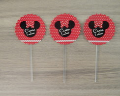Toppers para Cupcake - MINNIE