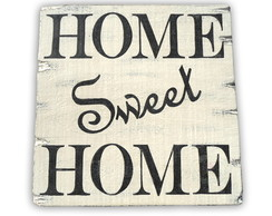 Placa Home Sweet Home 15%OFF
