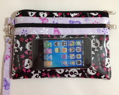 CARTEIRA PORTA CELULAR - MONSTER HIGH