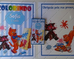 Kit Colorir Aristogatos