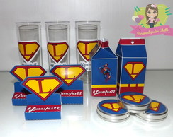 kit festa super man