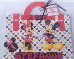 Maleta kit pintura Mickey e Minnie
