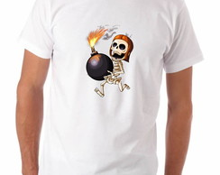 Camiseta Geek Clash of Clans Destruidor de Muro Modelo 2