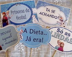 Kit 10 Placas para fotos