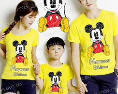 Kit Camiseta Mickey Mouse Disney com 3