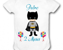 BODY PERSONALIZADO - BATMAN