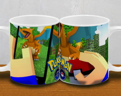 CANECA POKEMON GO MINECRAFT