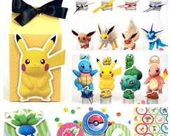 Kit Festa Scrap - Pokemon Go