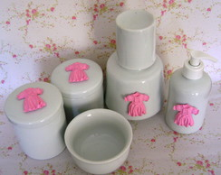 Kit Higiene Porcelana