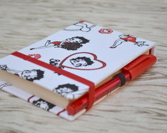 Bloco com Mini caneta - betty boop