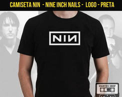 Camiseta Banda Nine Inch Nails NIN