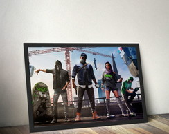 Quadro Watch Dogs 2 - Geek