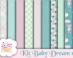 Kit Papel Digital Baby Dream