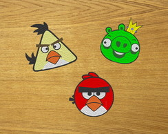 Patches Bordados Angry Birds