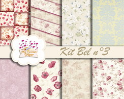 Kit Papel Digital Bel n°3