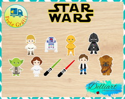 Recorte - Star Wars (1 de2) 3cm