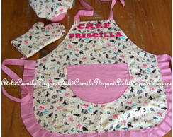KIT CHEF VINTAGE PERSONALIZADO