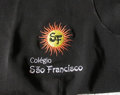 Uniforme bordada com logo