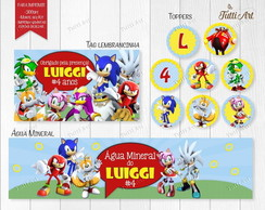Kit Festa Digital Sonic