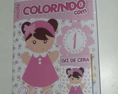 Kit Colorir Bonequinha