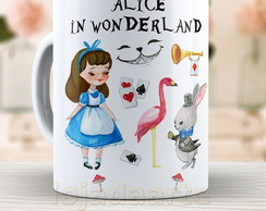 Caneca Alice In Wonderland - 1408