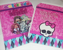 Kit de colorir MONSTER HIGH