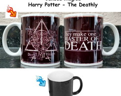 Caneca Magica Harry Potter The Deathly