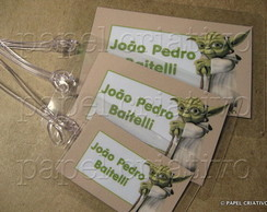 Kit 3 Bagtags - MESTRE YODA