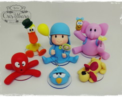 Turma do Pocoyo (7 personagens)