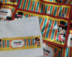 Kit Higiene Circo do Mickey