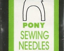 Agulhas Pony Sewing Sharps Curtas #11