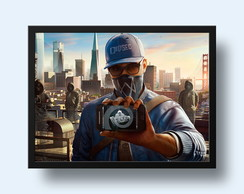 Quadro Watch Dogs 2 - Marcus
