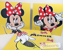 Quadrinhos Decorativos Minnie