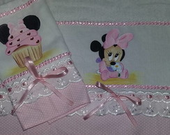 kit Fralda Minnie Baby