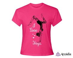 Baby Look I Love Yoga (M, G ou GG)