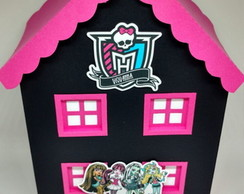 Casa Monster High 3D Centro de Mesa