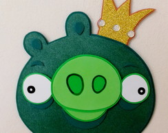 Angry Birds: Rei Porco c/40 cm - painel