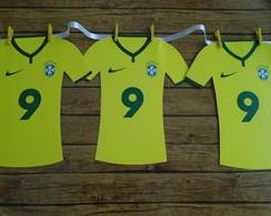 b72ded63bc ... Bandeirola - Camisa de futebol Brasil