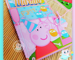 Convite Pop Up Peppa