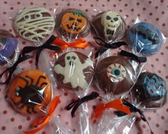 Pirulitos de Chocolate Halloween