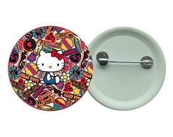 Botton 3,5 - Hello Kitty