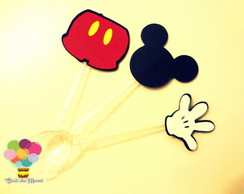 Toppers mickey mouse - 25 unidades