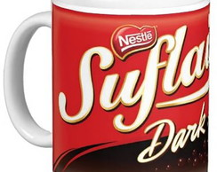 Caneca Chocolate Suflair Dark