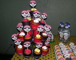 Toppers cupcake Pokemon