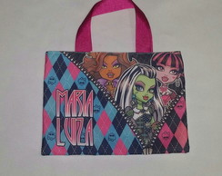 Ecobag Monster High 20x15cm
