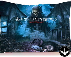 Almofada Avenged Sevenfold banda rock