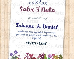 Save the Date (Salve a Data) Digital