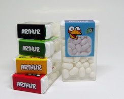 Tic Tac Angry Birds Blue